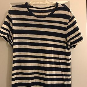 Striped blue and white Gap shirt